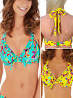 Lepel Sunset 1575610 Underwired Non Padded Halterneck Bikini Top Swimwear