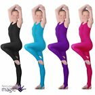 Roch Valley Dance Nylon Lycra Leotard Sleeveless Stirrup Catsuit Gymnastics L108