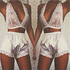 New Women's Lingerie Lace Dress Bodysuit Nightwear Underwear Babydoll Sleepwear
