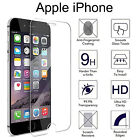 100% Genuine HD Tempered Glass Film Screen Protector Protection For Apple iPhone