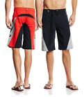 AlpineStars Performance The Arrival Swim Knee-Length Mens Black/Red Board Shorts