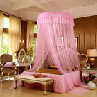 Lace Mosquito Net Lace Round Princess Elegant Curtain Dome Bed Canopy Netting