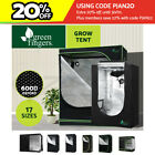 Greenfingers Grow Tent Hydroponics Plant Tarps Shelves Kit Metal Frame