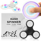 LED Finger Hand Licht Fidget Spinner Toy Anti Stress Konzentration Pocket  EDC