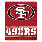 "New NFL ALL 32 Teams Available Helmet Logo Soft Fleece Throw Blanket 50"" X 60"""