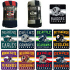 "New NFL ALL 32 Teams Available Helmet Logo Soft Fleece Throw Blanket 50"" X 60"" $17.05 USD on eBay"