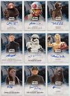 Star Wars The Force Awakens Series 2 Trading Cards Autograph Selection Choose £34.99 GBP