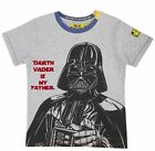 STAR WARS DARTH VADER IS MY FATHER KIDS T-SHIRT FABRIC FLAVOURS BNWT