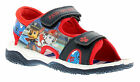 New Younger Boys/Childrens Blue Touch Fasten Paw Patrol Sandals UK SIZES