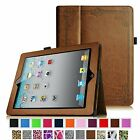 Apple iPad 2, the new iPad 3 & iPad 4 with Retina Display Leather Case Cover