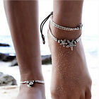 Summer Boho Starfish Anklet Vintage Ankle Bracelet Women Buddha Foot Jewelry