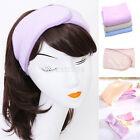 Adjustable Soft Towelling Hair Turban Head Band for Make Up Facial Salon Spa NEW