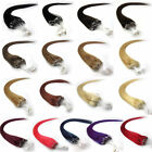 "More Color New 18""-26"" Micro Loop Ring Tube Remy Human Hair Extensions 50g 100g"