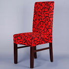 New Chair Cover Floral Home Hotel Dining Room Slipcover Celebration Party Decor