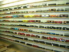 LIONEL WALL OF TRAINS - 140 ITEMS FOR ONE $$$$$$    - MAKE OFFERS!!