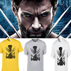 US SELLER!Newest Movie X-Men Wolverine T-Shirt Men Fashion Tops T-Shirt Cotton