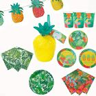 Talking Tables Tropical Fiesta Mardi Gras Festival Summer Party Tableware Lot