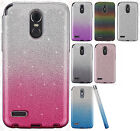 For LG Stylo 3 SHINE HYBRID HARD Protector Case Rubber Phone Cover Accessory