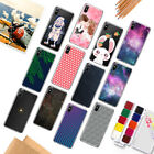Silicone Patterned Soft TPU Transparent Back Case Cover For iPhone 6 6s 5 7 Plus