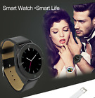 Fitness Touchscreen Bluetooth Smart Watch Phone Mate for iPhone Android Samsung