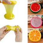 Creative Kids Fruit Crystal Clay Fun Jelly Slime Plasticine Mud Educational Toys