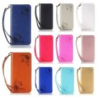 Retro Butterfly Emboss Self Suction Magnetic Cover TPU Case For Samsung Galaxy