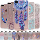 Clear Soft TPU Slim Silicone Back Case Cover For Apple iPhon