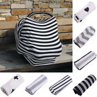 Multi-Use Newborn Infant Stretchy Nursing Cover Baby Car Seat Canopy Cover Cart