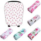 FLOWER Multi-Use Stretchy Infant Newborn Nursing Baby Car Seat Cover Cart Canopy