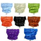 Waterproof Teen Adult Diaper Cloth Bedwetting Incontinence Nappy Pants Dh