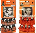 MOMENTUM BRANDS 2pc Choker & Bracelet Set LACE+SKULLS Halloween *YOU CHOOSE* New