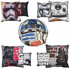 OFFICIAL STAR WARS CUSHIONS DARTH VADER R2-D2 KYLO REN STORMTROOPER OFFICIAL NEW