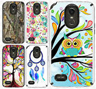For LG Stylo 3 Shockproof Sleek Hybrid Impact Dual Layered Case Phone Cover