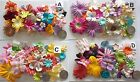 SCRAPBOOKING NO 426 - 18 PRIMA PAPER FLOWERS - 4 DIFFERENT PACKS AVAILABLE