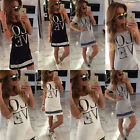 Casual Tee TOP Boyfriend Style Blouse Loose T Shirt Letter LOVE Printed  Shirt