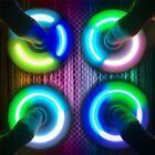 LED light Fidget Hand Spinner Torqbar Brass Finger Toy EDC Focus Gyro Gift  GOOD