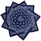 Hoodboyz Single-color Pack 10 Pcs Herren Bandana Dunkelblau Weiß(83373)