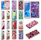 For Samsung Galaxy J7 PRIME Liquid Glitter Quicksand HARD Case Phone Cover