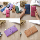 wallet card holder  phone handbag wallets 2017 NEW Simple Fashion women purse