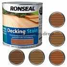 Ronseal Decking Stain - In 5 Natural Shades - 2.5L