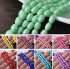 NEW 11X8mm Multicolor Lacquer Oval Loose Spacer Beads Lot Bulk Jewelry Making