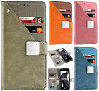 For LG Stylo 3 Premium Front Pocket Wallet Case Pouch Cover +Screen Protector