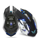 HXSJ X70W/X70B Ergonomic Wireless Gaming Mouse with 6 Buttons + USB Receiver US