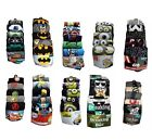 Mens Novelty Socks Star Wars Marvel DC Avengers Minions Simpsons Family Guy NEW