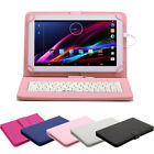 """iRULU 10.1"""" Google Android 6.0 Quad Core Tablet PC 16G Bluetooth with Keyboard"""