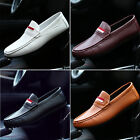 Mens Synthetic Leather Driving Moccasin Loafer Slip On Casual Comfy Shoes UK 6-9