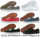 100% Original Vans Authentic Multi Colors Low Women *NO BOX