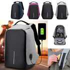 Unisex Anti-Theft Notebook Backpack Casual Laptop Travel Rucksack Xmas Gift Bags