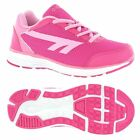 Hi-Tec Pajo Girls Lightweight Pink Running Shoes For Walking Running & Playing