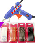 New Small DIY 15W Hot Melt Glue Gun Rubber Stick for Hair Extensions Tool